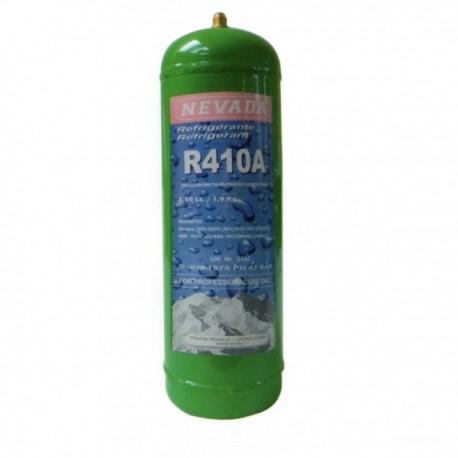 GAZ R410a BOUTEILLE 2 KG RECHARGEABLE