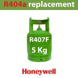 GAZ R407F (ex R404) BOUTEILLE 5 KG RECHARGEABLE