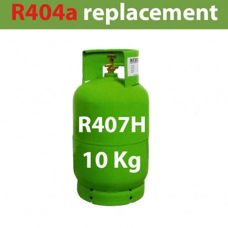 GAZ R407H (ex R404) BOUTEILLE 10 KG RECHARGEABLE