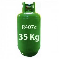 GAZ R407c BOUTEILLE 35 KG RECHARGEABLE