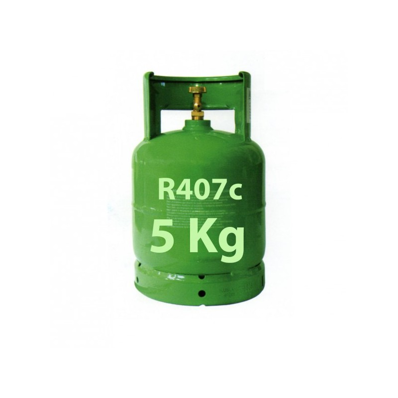 r407c r407 5 kg refrigerant gaz bouteille rechargeable. Black Bedroom Furniture Sets. Home Design Ideas