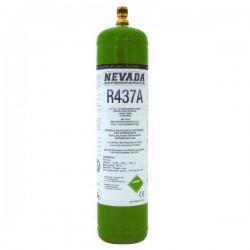 GAZ R437a (ex R12) 1 KG BOUTEILLE RECHARGEABLE