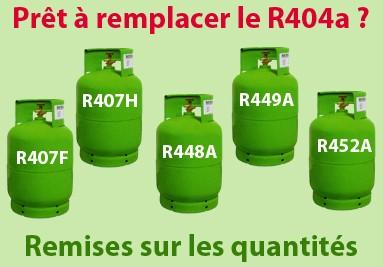 Remplacer le R404a