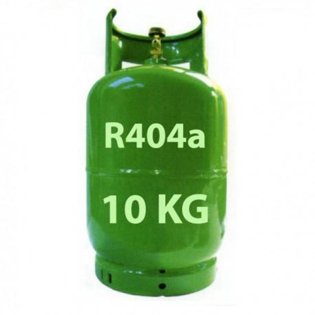 GAZ R404a BOUTEILLE 10 KG RECHARGEABLE