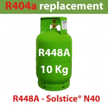 GAZ R448A (ex R404) BOUTEILLE 10 KG RECHARGEABLE