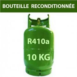 GAZ R410a BOUTEILLE 10 KG RECHARGEABLE RECONDITIONNEE