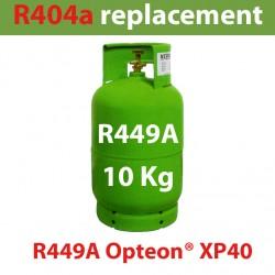 GAZ R449A (ex R404) BOUTEILLE 10 KG RECHARGEABLE