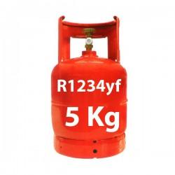 GAZ R1234yf BOUTEILLE 5 KG RECHARGEABLE