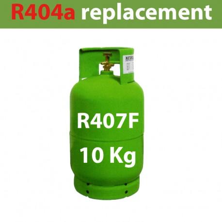 GAZ R407f BOUTEILLE 10 KG RECHARGEABLE