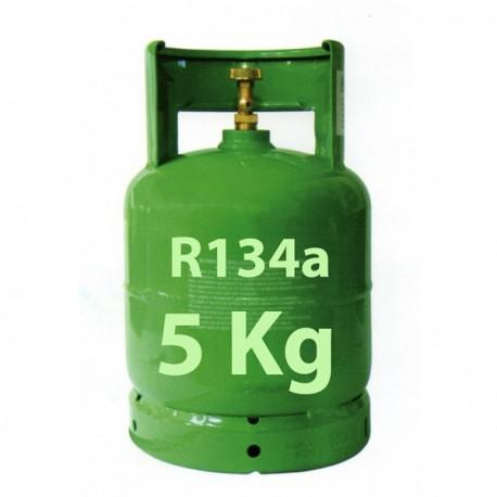 GAZ R134a BOUTEILLE 5 KG RECHARGEABLE