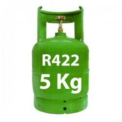 GAZ R422 (ex R22) 5 KG BOUTEILLE RECHARGEABLE