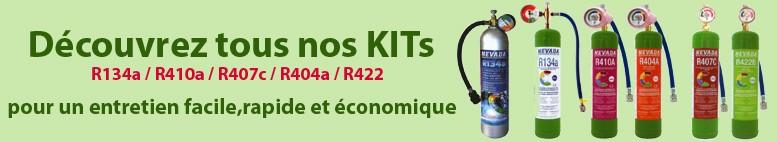Réfrigérant gaz KITs pour bricoleurs